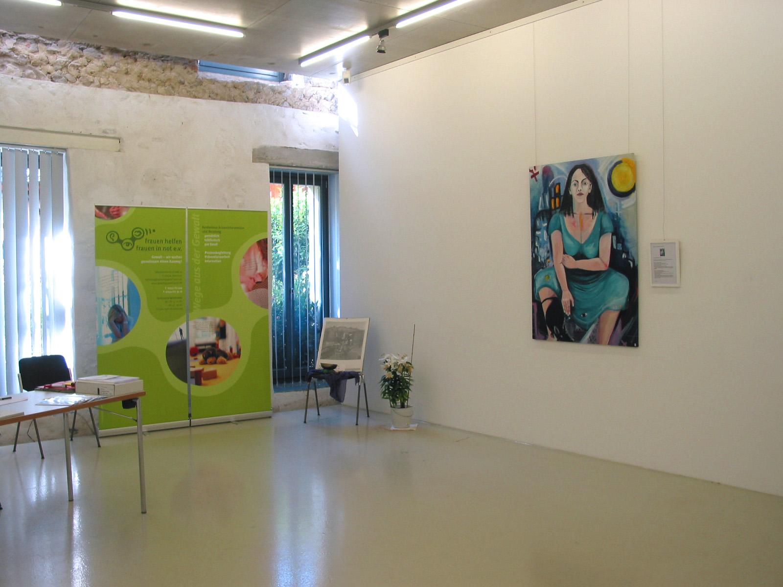 Ausstellung »Frauen in Veränderung - Wege aus der Gewalt« 1